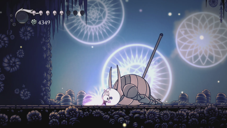 merc mcguirk playing Hollow Knight: Voidheart Edition