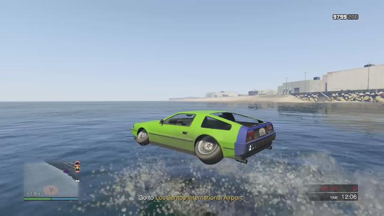 Crandy playing Grand Theft Auto V