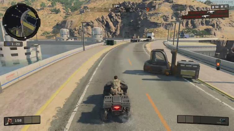 Salah satu kendaraan di Black Ops 4 Blackout