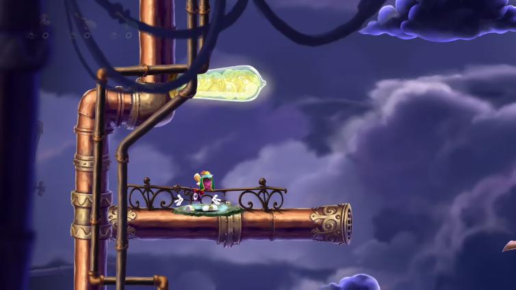 Mr TobStar playing Rayman Legends